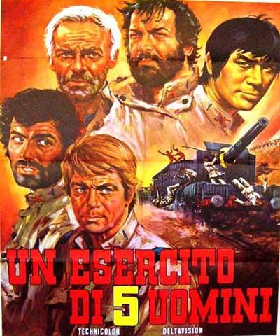 دانلود فیلم خارجی 5 مرد خشن محصول 1969