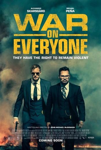 دانلود رایگان فیلم War On Everyone 2016