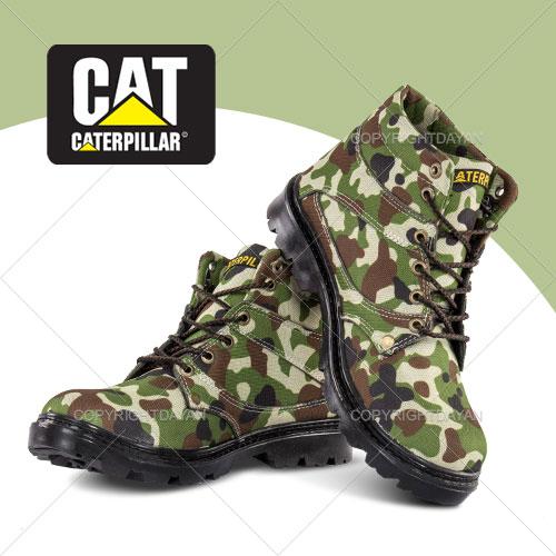 نیم بوت ارتشی CAT مدل Nitro(سبز)