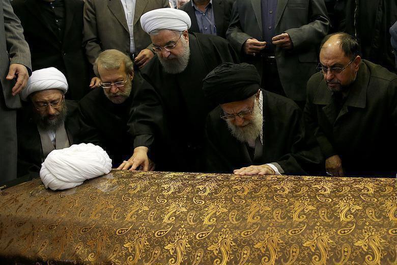 عکس های مراسم تشییع جنازه هاشمی رفسنجانی