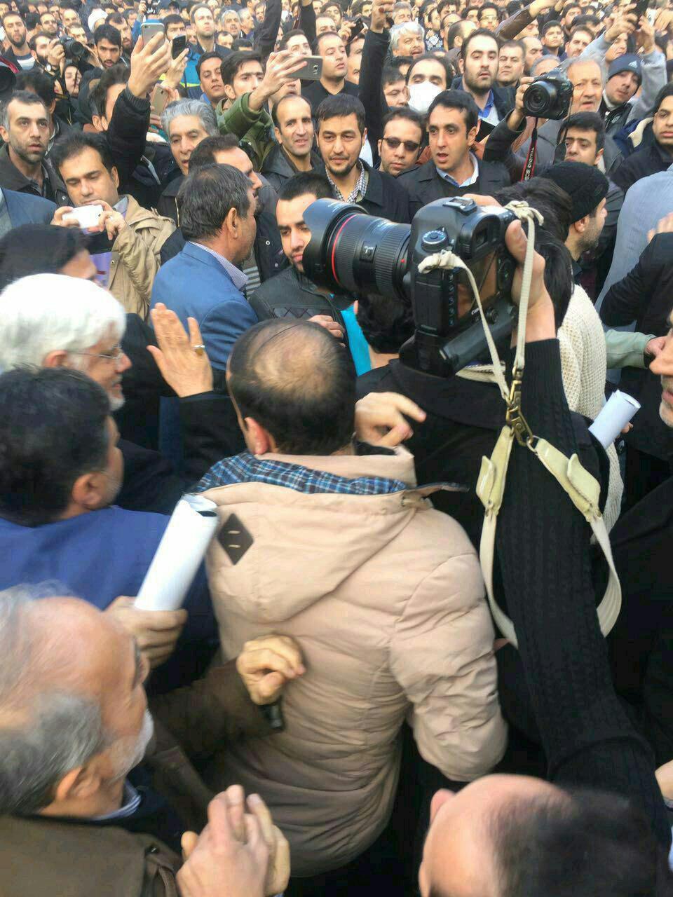 حضور دکتر عارف در مراسم ایت الله هاشمی رفسنجانی + عکس