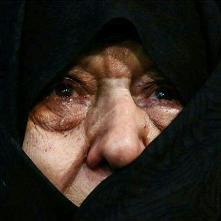 چشمان داغدیده همسر آیتالله هاشمی رفسنجانی + عکس