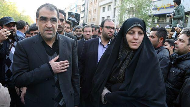 حضور دکتر هاشمی در مراسم ایت الله هاشمی رفسنجانی + عکس
