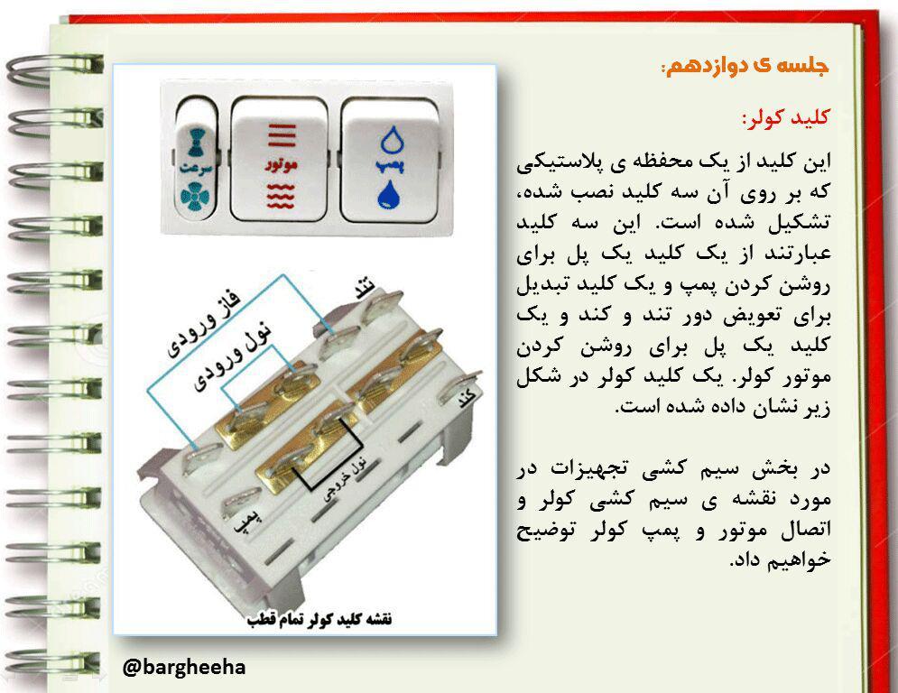 آموزش برق ساختمان جلسه 12
