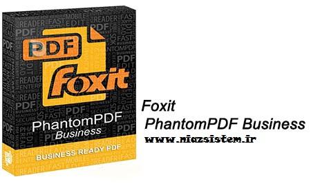 یرایش حرفه ای اسناد PDF با Foxit PhantomPDF Business 8.2.2192