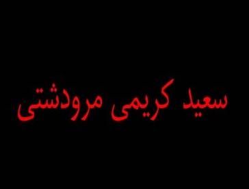 دانلود آهنگ نرو مریرم نرو از  استاد سعید کریمی