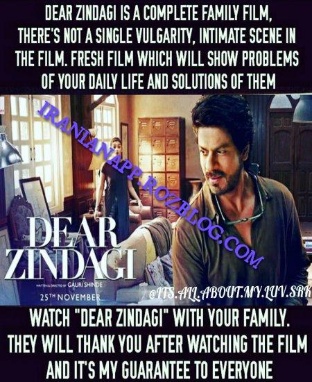 دانلود زیرنویس فارسی فیلم Dear Zindagi 2016