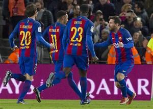 نتیجه بازی بارسلونا و رئال سوسیداد 30 دی 95 فیلم گلها و خلاصه