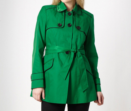 مدل مانتو به رنگ سبز,مدل مانتو به رنگ سال 96