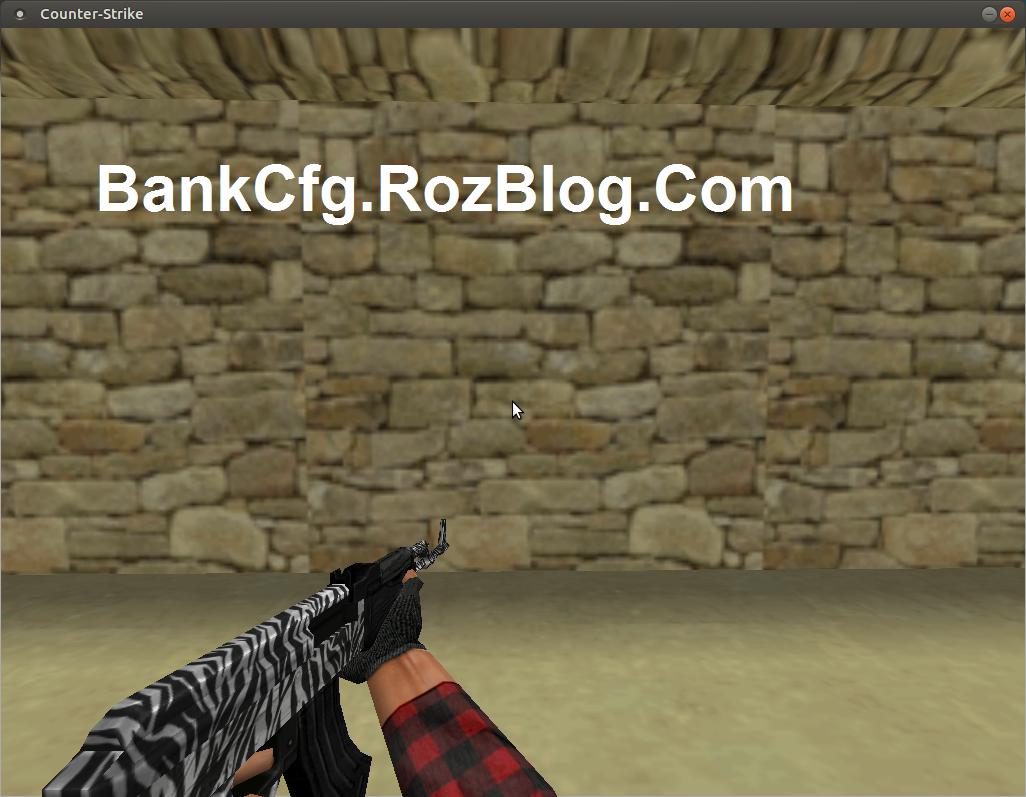 دانلود اسکین Zebra برای Ak47