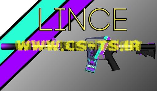 دانلود اسکین زیبای اسلحه ای m4a1-s_-_lince_2 برای کانتر گلوبال