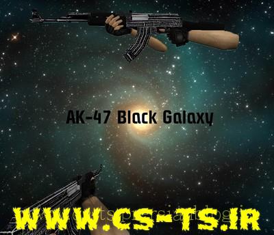 دانلود اسکین ak-47_black_galaxy برای کانتر 1.6