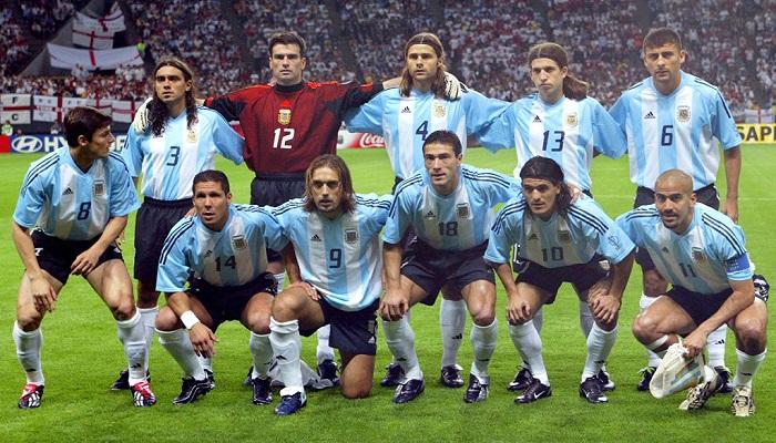 ترکیب کلاسیک آرژانتین جام جهانی 2002
