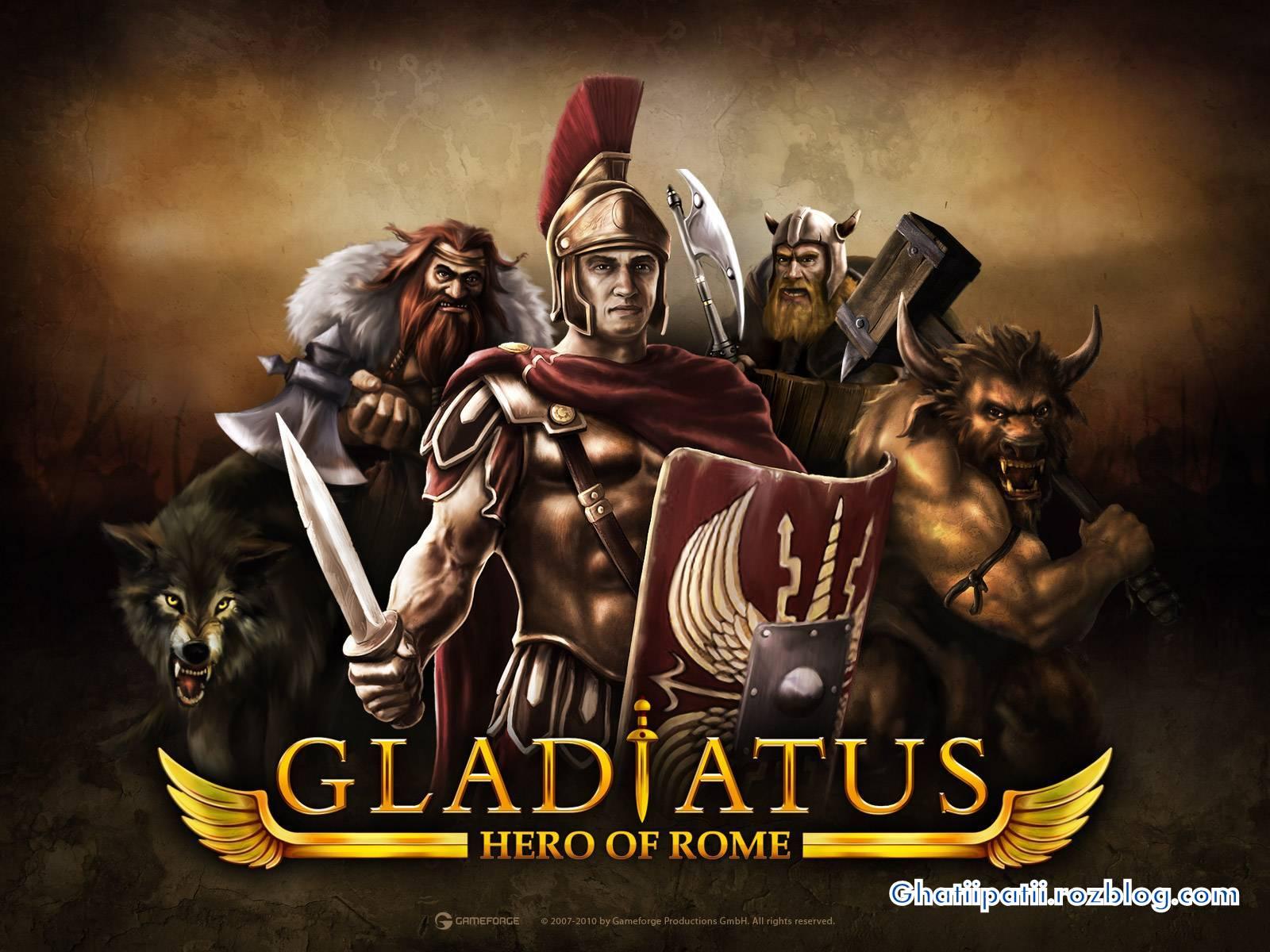 بازی آنلاین گلادیاتوس Gladiatus