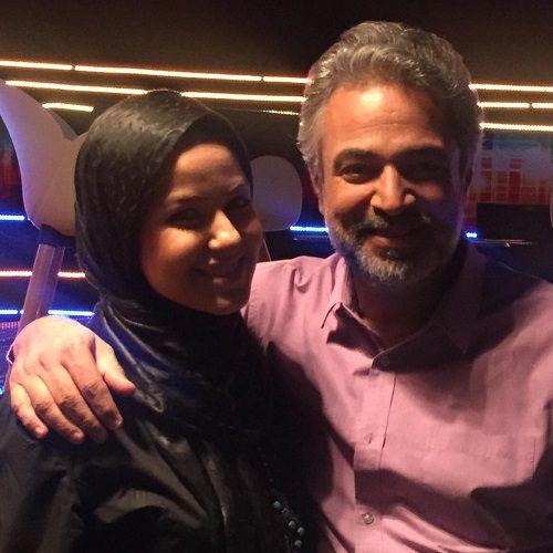 عکس حسن جوهرچی و همسرش مهناز بیات فرزندش علی اوا + بیوگرافی