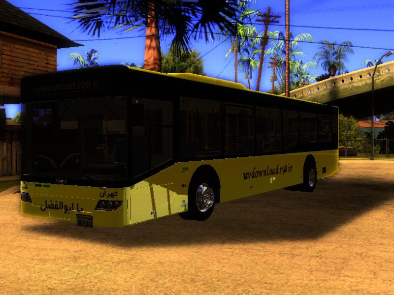 دانلود مد ماشین اتوبوس شرکت واحد برای gta5
