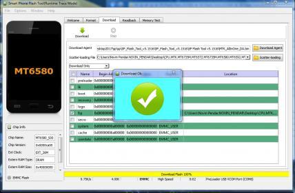 دانلود فایل های حذف اف ارپی گوشیهای cpu mtk