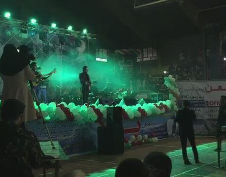 لحظاتی از کنسرت مياندوآب