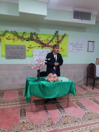 برگزاری نشست روشنگری در واحد بسیج دانش آموزی الزهرا