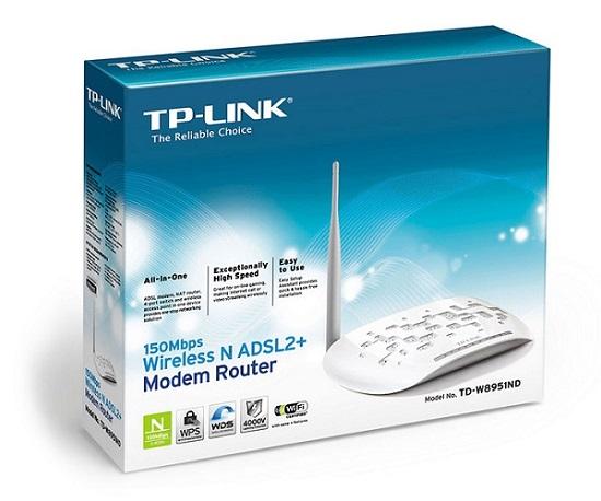 مودم روتر +ADSL2 و بیسیم TP-LINK