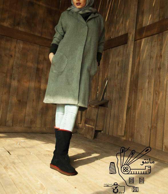مدل مانتو شیک زمستانی 96