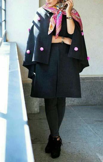 مدل پالتو های شیک دخترانه 2017