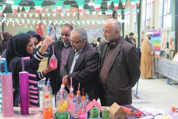 جشنواره غذا به مناسبت دهه فجر در مدرسه حجاب نظرآقا  95/11/19