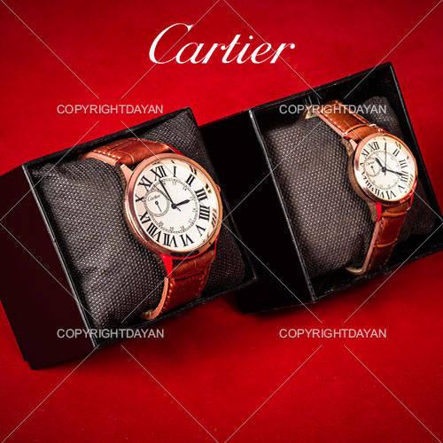 ست ساعت مردانه و زنانه Cartier