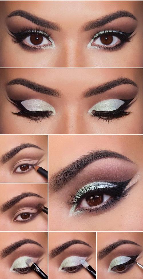 آموزش تصویری آرایش چشم و ابرو,