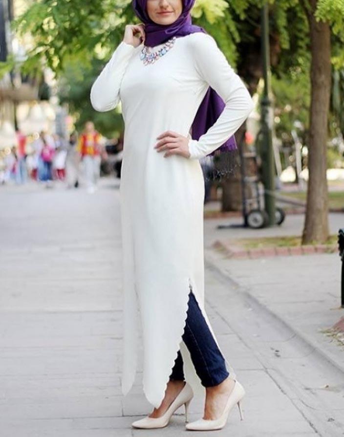 جدیدترین مدلهای مانتو بلند زنانه,