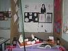 به مناسبت ایام عزاداری حضرت فاطمه زهرا (س)، نمایشگاهی در دبیرستان فاطمیه جیرفت راه اندازی شد
