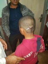 تصاویر تنبیه وحشتناک دانش آموز در رودبار