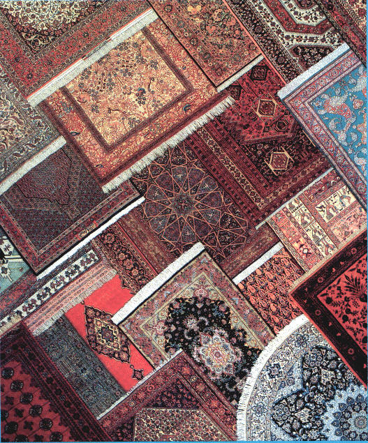 صادرات فرش دستبافت ایران به واسطه چینی ها