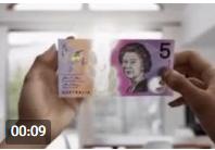 ویژگی های جالب اسکناس های جدید 5 دلاری استرالیا