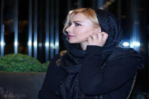عکس های آنا نعمتی با تیپ جذاب در اکران فیلم ماحی