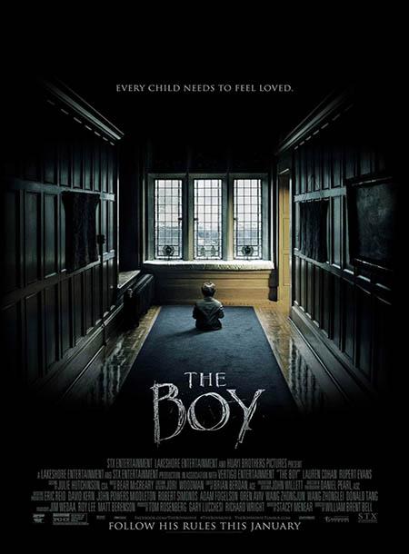 دانلود دوبله فارسی فیلم پسر The Boy 2016