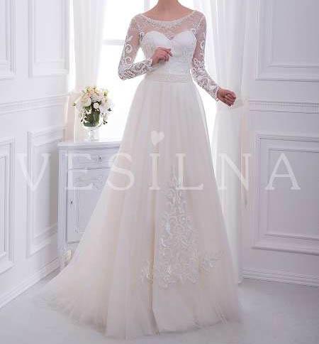مدل لباس عروس جدید دانتل
