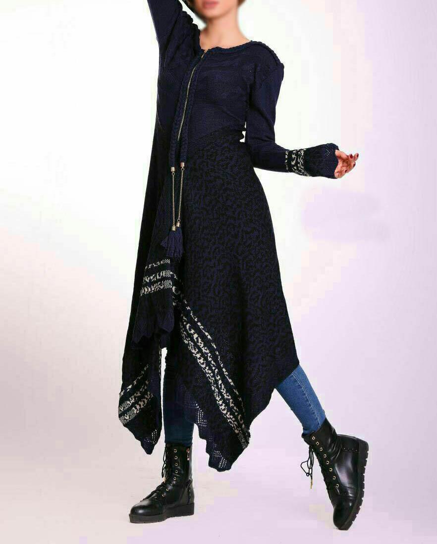 مدل مانتو بافتنی زنانه 2017