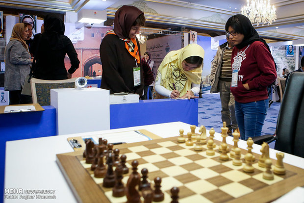 آغاز مسابقات قهرمانی شطرنج بانوان جهان در تهران