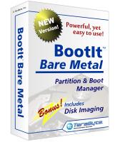 BootIt Bare Metal 1.30a Retail پارتیشن بندی و مدیریت بوت سیستم عامل