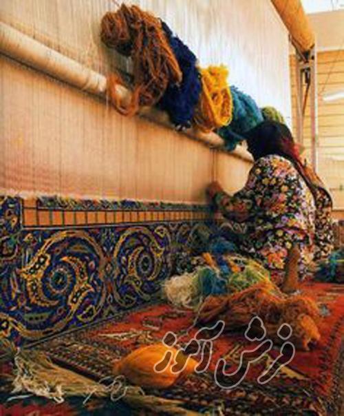 شیوه بافت فرش در کشورهای مختلف به روایت تصویر