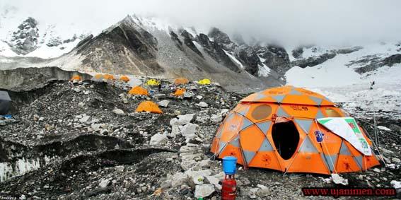 محل مناسب برپایی چادر