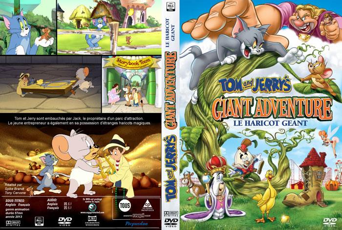دانلود دوبله فارسی انیمیشن Tom and Jerry's Giant Adventure