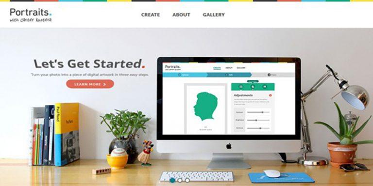طراحی سایت فلت و مفهوم آن