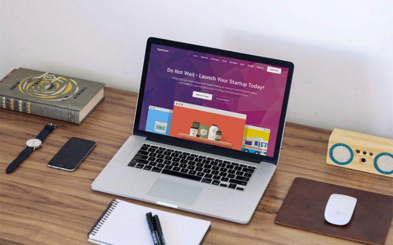 طراحی سایت شرکتی و مزیت های طراحی به صورت فلت