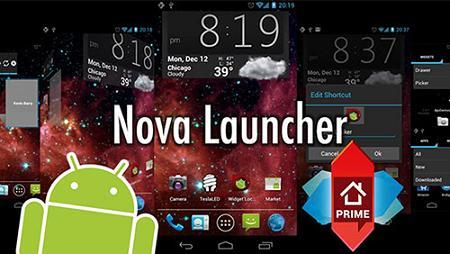 دانلود لانچر محبوب نوا برای اندروید - Nova Launcher v5.5.2 Prime Final