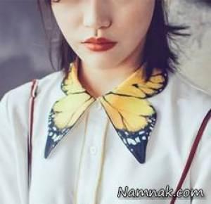 مدل یقه های فانتزی بلوز و شومیز دخترانه