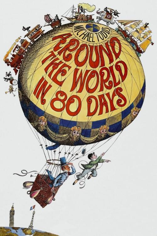 دانلود رایگان دوبله فارسی فیلم دور دنیا در 80 روز Around the World in Eighty Days 1956