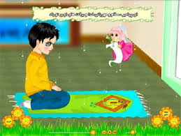 آموزش نماز برای کودکان با انیمیشن