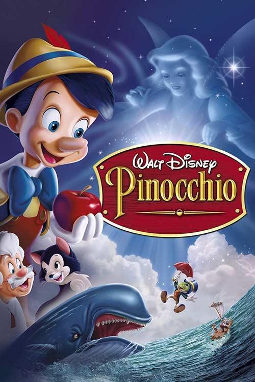 دانلودانیمیشن Pinocchio 1940